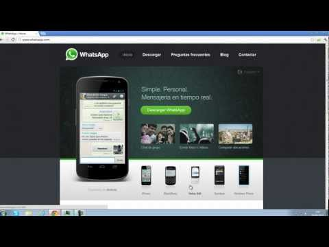 Descargar Whatsapp (archivo .sis)