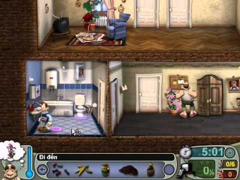 Neighbours From Hell 1 ( Người Hàng Xóm 1 ) - Màn 3 Tập 2 ( Game Việt Hóa )