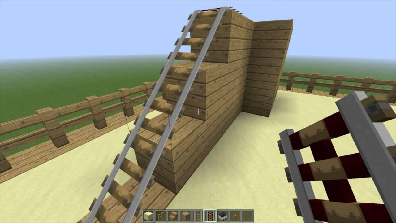 Minecraft постройка города : Игровая площадка - YouTube
