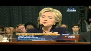 Hillary Clinton talks about Beirut bombing vs. Benghazi attacks