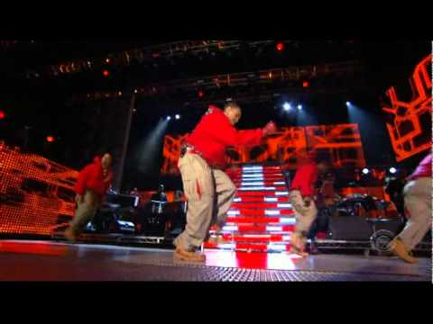 Chris Brown - Run It  performance ao vivo
