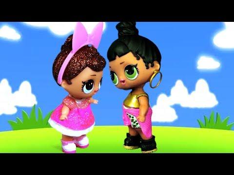 Новая кукла ЛОЛ оказалась ужасной подружкой! Мультик lol стопмоушен про живые куклы лол сюрприз