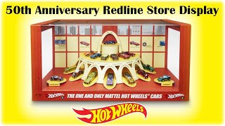 Hot Wheels Original 16 Display with Cars!