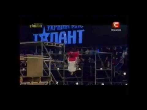 Украина мае талант 4 Сергей человек паук.mov