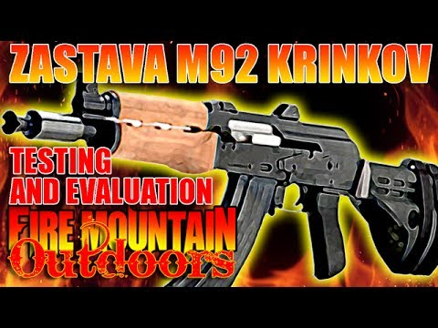 Zastava PAP M92 Krinkov with SB47 from Century Arms - Review and Demonstration