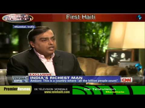 Mukesh Ambani Television Interview With FAREED ZAKARIA