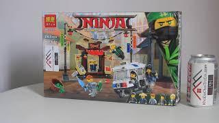 Mở hộp Bela 10714 Lego Ninjago 70607 City Chase giá sốc rẻ nhất