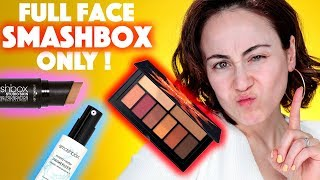 UNGLAUBLICH ❗️ Full Face Makeup Using Only SMASHBOX | Full Face of First Impression | Hatice Schmidt