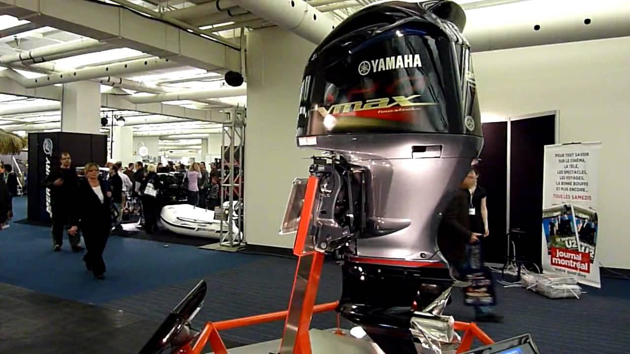 Monster Boat Motor Yamaha Vmax Vf 250 Boat Show Montreal