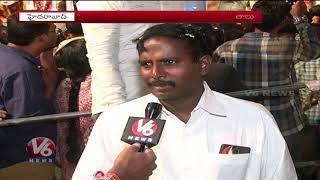 Huge Devotees Rush At Khairatabad Ganesh Idol | Hyderabad