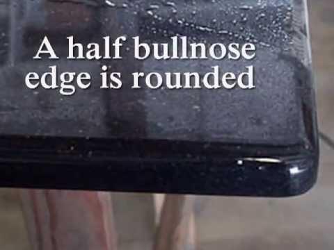 What is a Bullnose Edge Half Bullnose Edge on Granite