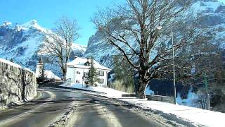 Switzerland 107 (Camera on board): Grindelwald (BE) in winter