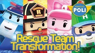 Rescue Team Transformation ! | Robocar Poli Special Clips