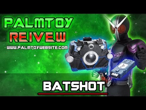 (รีวิว) Memory Gadget 03 Batshot   ค้างคาวจากมาสไรเดอร์ ดับเบิ้ล THAI [HD
