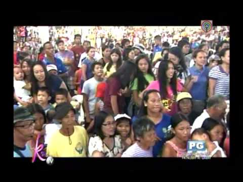 Kris, Angel witness Yolanda devastation in Iloilo
