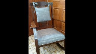 Reupholster Rocking Chair Seat