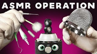 ASMR TINGLE OPERATION - Ear to Ear Trigger Satisfaction for Sleep & Relaxation