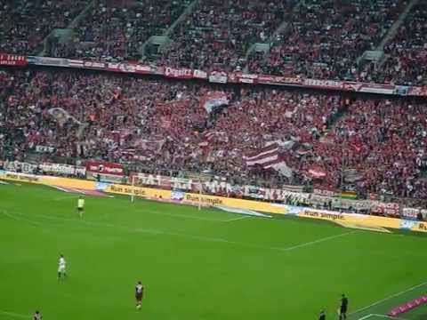 Bayern fans - Great atmosphere in Allianz Arena