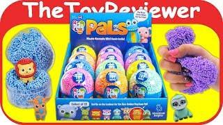 Playfoam Pals Full Case 12 Foam Animals Blind Bags Series 1 Unboxing Toy Review by TheToyReviewer