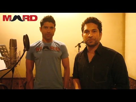 Making of: MARD Marathi poem by Sachin Tendulkar