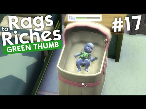The Sims 4 - Rags to Riches: Green Thumb (Part 17)