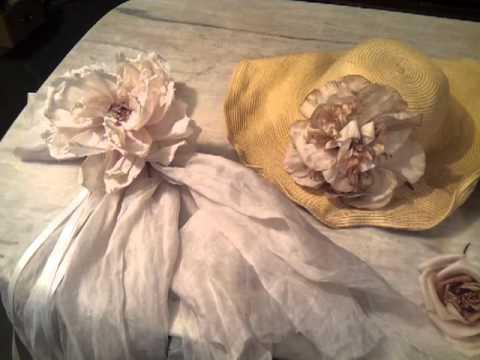 Fatto a mano fabbricazione fiori di stoffa youtube for Fermaporta fai da te in stoffa