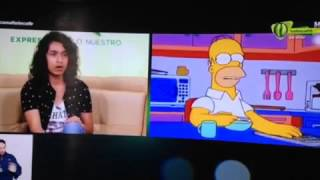Doblaje en vivo de Homero Simpson - Jeff Cruz