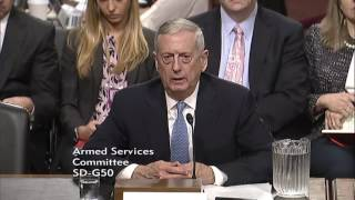 McCAIN FULL QUESTIONING OF MATTIS AT CONFIRMATION HEARING