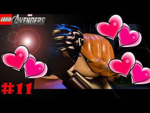 #11| Sexy Lego Kiss | Lego Marvel's Avengers Gameplay Guide | Rise of Ultron |Full Game Let's Play