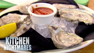 Restaurant Serves WARM Oysters | Kitchen Nightmares