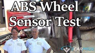 How to Test an ABS Wheel Sensor