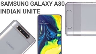 SAMSUNG GALAXY A80 FULL REVIEW | PRICE | SPECIFICATION INDIAN UNIT