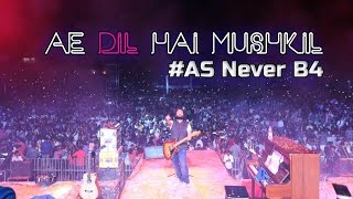 download lagu As Never B4  Ae Dil Hai Mushkil Live gratis
