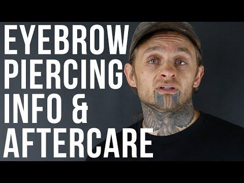 Eyebrow Piercing Info & Aftercare   UrbanBodyJewelry.com
