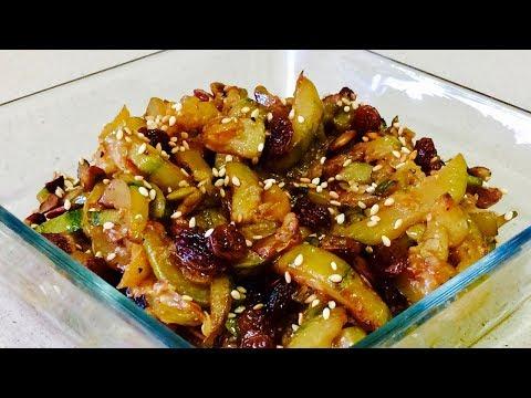 🌶КАБАЧКИ В КИСЛО-СЛАДКОМ СОУСЕ🌶 ОБАЛДЕННО ВКУСНЫЕ КАБАЧКИ🌶Delicious zucchini