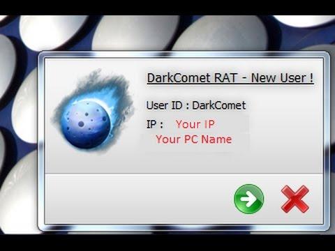 Управление чужим компьютером, кража данных, взлом аккаунтов. DarkComet Rat