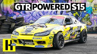 1000hp R35 GTR Powered Nissan S15 That Sounds Like the Apocalypse - Kazuya Taguchi's Pro Car