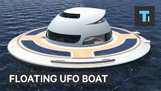 Floating UFO Boat Lets You Live Underwater