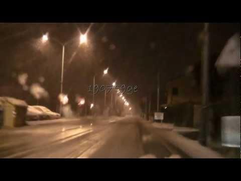 BIG Snow treviso (attimi nella tormenta) 11/02/2011 Forte pertur
