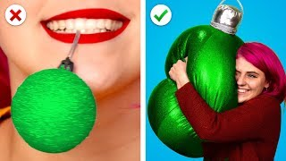 Christmas Decor! 8 Fun Last Minute Christmas Decoration Ideas!