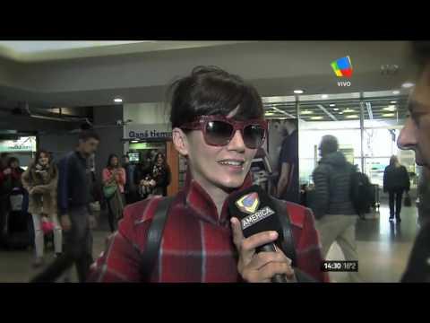 Griselda Siciliani habló antes de irse de viaje a grabar junto con Lamothe