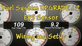 Miata E85 Flex Fuel Sensor Wiring and Setup