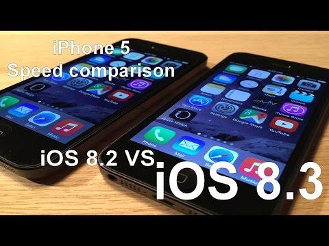 iOS 8.3 vs iOS 8.2 on iPhone 5