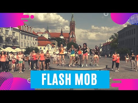 I FLASH MOB Białystok - Zumba Energy Team