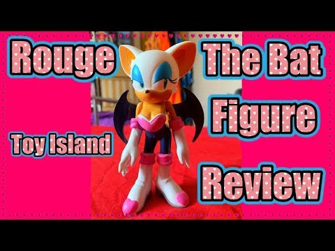 Sonic X Toy Island Rouge the Bat Figure Review