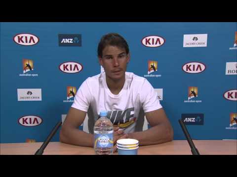 Rafael Nadal press conference (1R) - Australian Open 2015