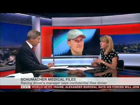 Maddy Savage - Schumacher files stolen