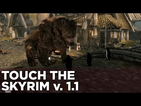Touch the Skyrim Ep. 2: Nick and Griffin Fight A Big, Awful Bear