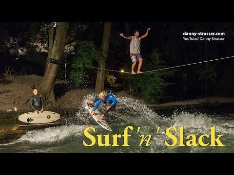 Slackline & Surfing - Surf 'n' Slack thumbnail