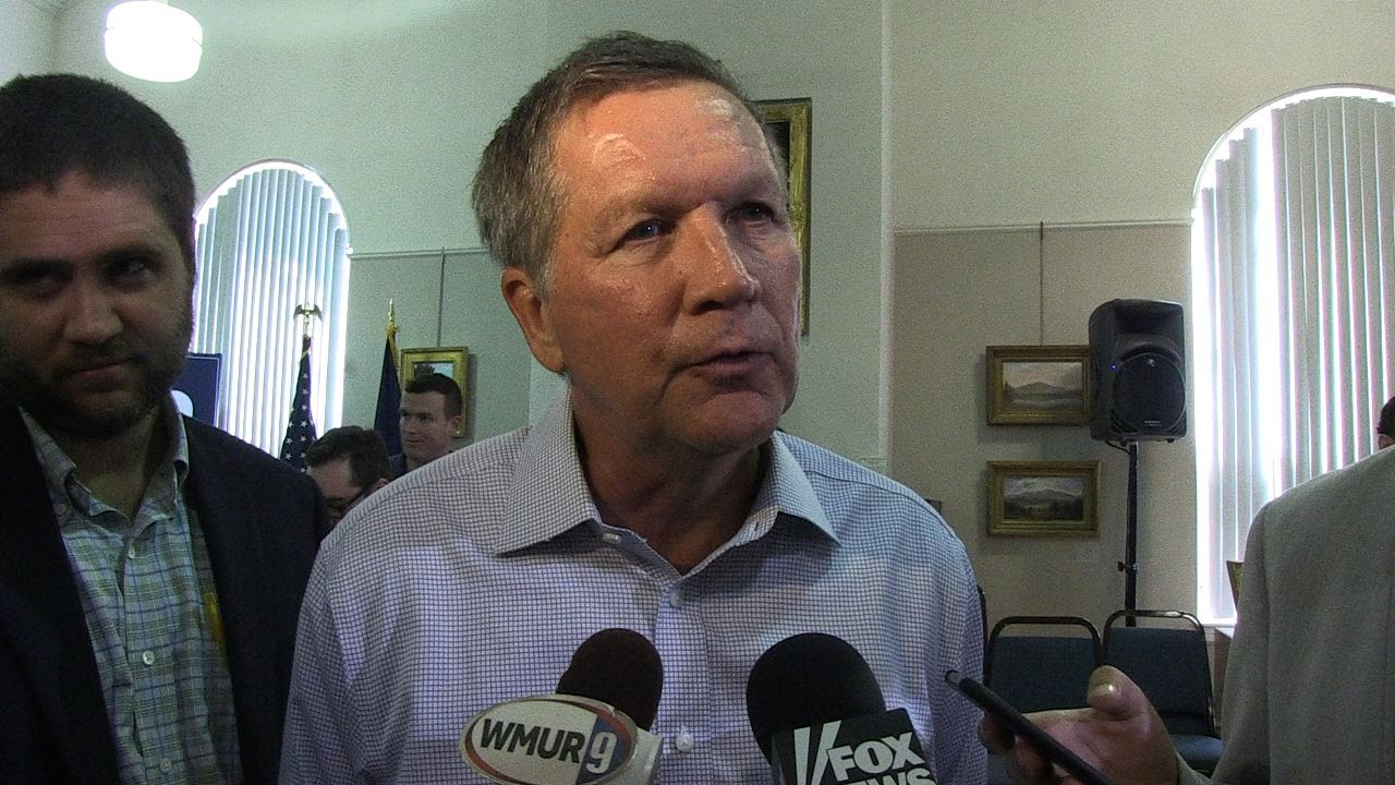 Kasich on Trump mania: 'This will pass'